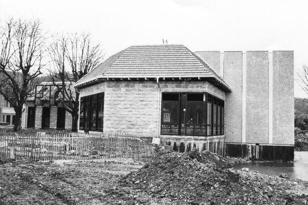 France 3 Franche-Comté, à l'époque FR3. Le chantier aura duré toute l'année 1981