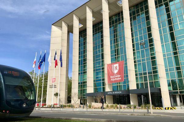 L'Hôtel de Région Nouvelle Aquitaine à Bordeaux