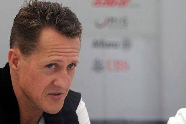 Michael Schumacher au Grand Prix de Formule 1 de Suzuka, au Japon, en 2012.