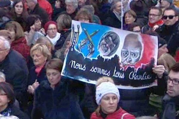 Le 11 janvier 2015, 50 000 Dijonnais étaient dans la rue pour défendre la liberté d'expression.