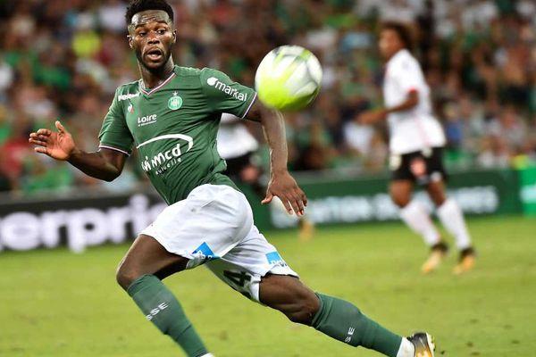 Le buteur Jonathan Bamba lors du match ASSE - Nice