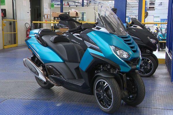Le nouveau trois-roues marque un tournant haut de gamme de la marque.