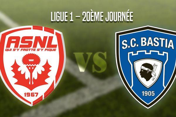 AS Nancy Lorraine - SC Bastia.
