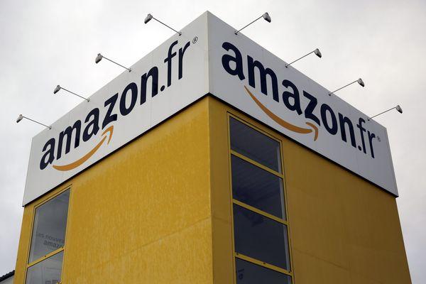 Le site d'Amazon à Saran (Loiret)