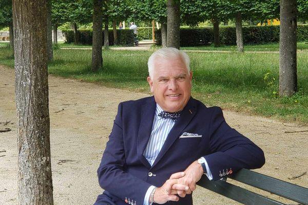 Le parc Blossac de Poitiers, lieu de détente pour Frédérick Gersal
