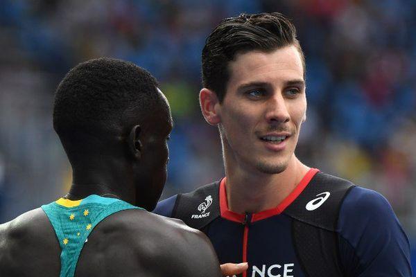 Pierre-Ambroise Bosse disputait les 800 mètres hommes ce samedi après-midi.