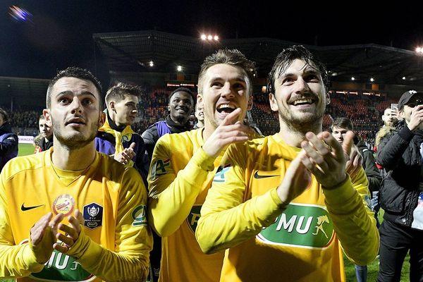 Coupe de France de football quart de finale à Laval: Nantes face à Vitré