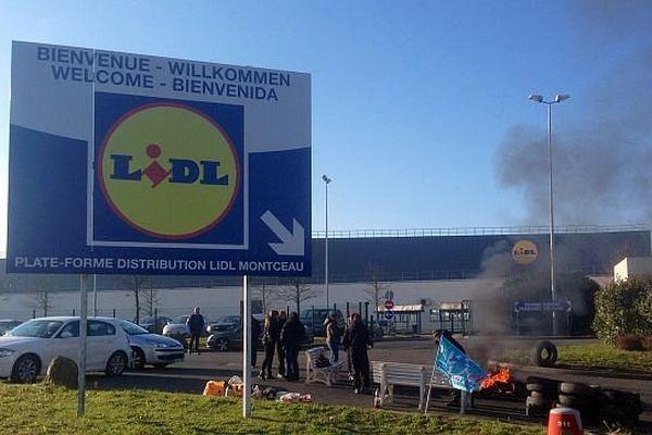 La plateforme Lidl de Montceau-les-Mines ravitaille 73 magasins de Bourgogne, Franche-Comté et Auvergne.