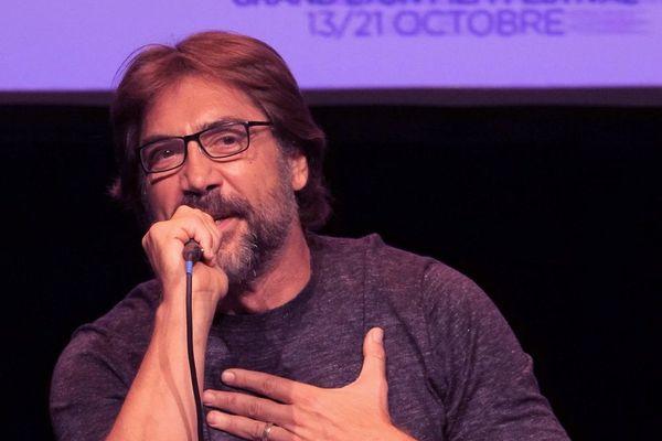 """Lyon: l'acteur Javier Bardem a évoqué les """"tournants"""" de sa carrière au Festival Lumière 2018 - 15/10/18"""
