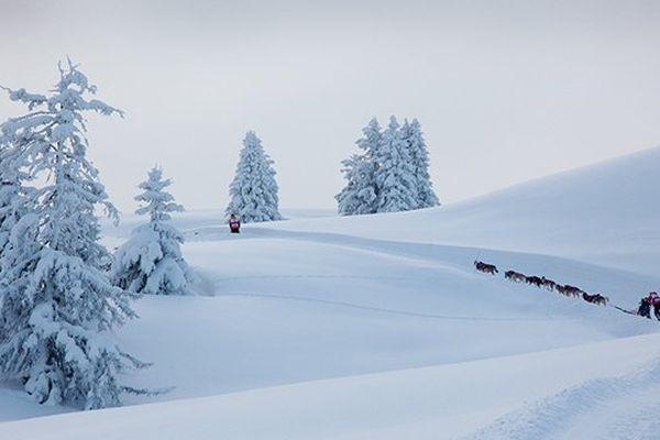 GRAND FORMAT. La grande Odyssée Savoie Mont Blanc