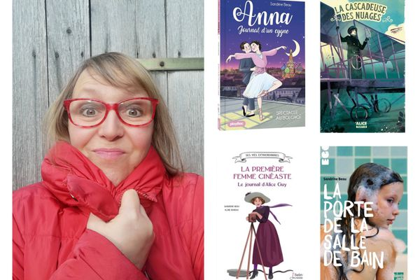 Vos enfants ont très certainement eu un de ses livres entre leurs mains. L'écrivaine Sandrine Beau aime mettre en valeur des héroïnes féminines battantes et rebelles.