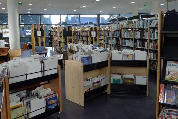 La bibliothèque de Ploufragan ne retrouvera pas ses lecteurs tout de suite, à cause de l'épidémie de coronavirus