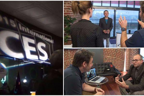 Les entrepreneurs suivent un programme de coaching pour se distinguer dans les allées du salon de l'électronique de Las Vegas.