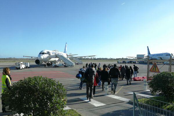 La compagnie aérienne Air Corsica a enregistré une forte hausse des réservations vers la Corse après l'annonce d'un probable déconfinement le 15 décembre.