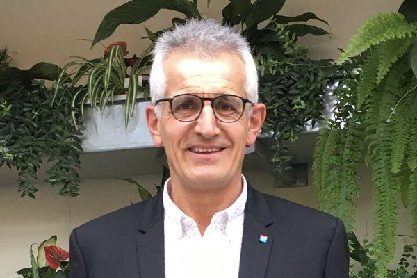Alain Martineau, président régional de l'Union nationale des entreprises du paysage (Unep)