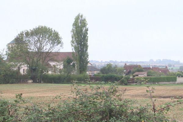 Un paysage nivernais, proche de Saint-Parize-le-Châtel, dans son sous-sol pourrait se trouver de l'hélium
