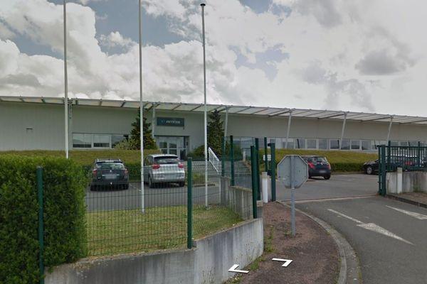 L'usine Inteva a été construite en 1996 à Esson près de Thury-Harcourt