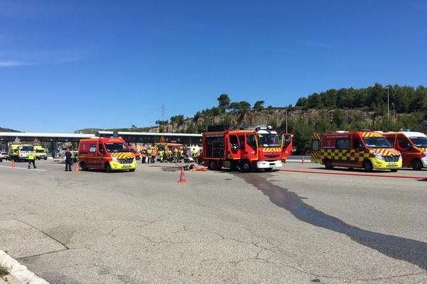 Un accident de la route au péage de La Ciotat sur l'A50 fait sept blessés, l'autoroute dans le sens Marseille-Toulon a été fermée.