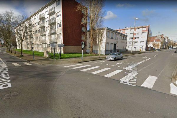 L'accident a eu lieu sur le boulevard Victor Hugo, à proximité de la rue Saint Mathieu.