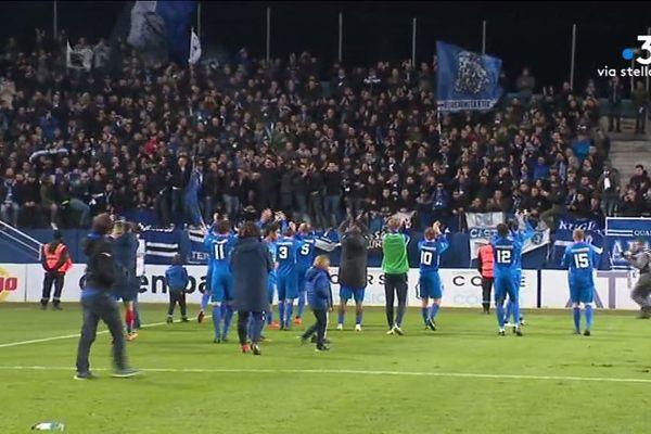 Le SC Bastiais accède au prochain tour de la Coupe de France. Samedi 17 novembre l'équipe a remporté son match contre Le Mans deux buts à un.