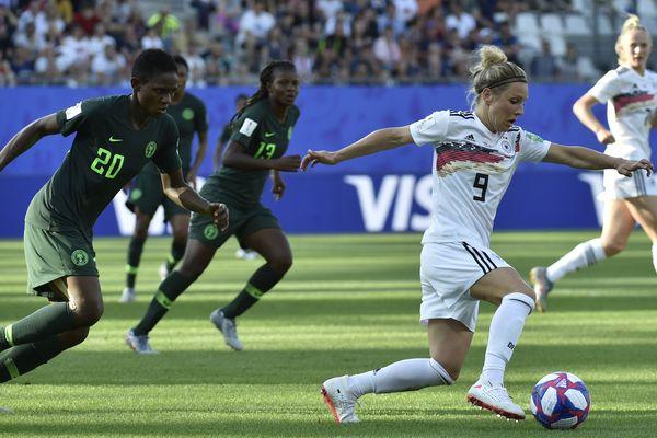 L'Allemagne s'est imposé 3-0 face au Nigeria en huitièmes de finale du Mondial de football féminin.