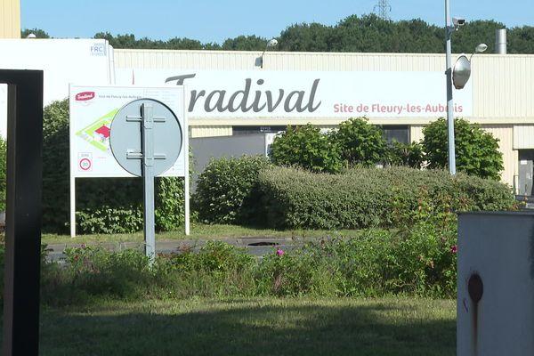 L'abattoir Tradival à Fleury-les-Aubrais dans le Loiret