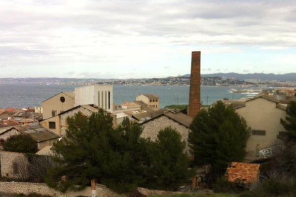 Le terrain de l'ancien site industriel Legré-Mante