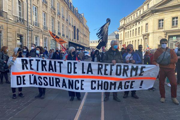 A Caen, salariés précaires et intermittents manifestent ensemble