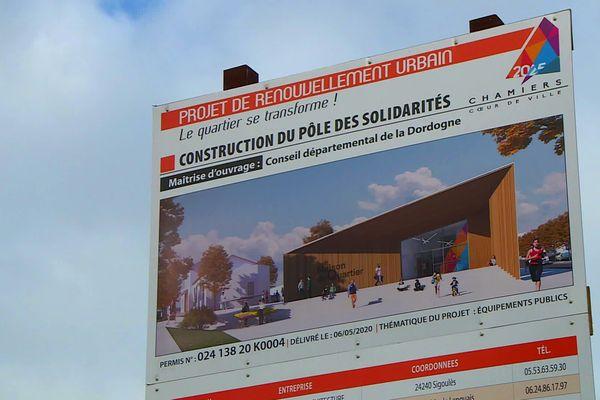 Le pôle accueillera différentes activités et services à vocation sociales