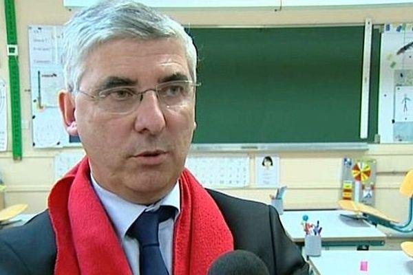 Gaëtan Gorce, sénateur PS de la Nièvre et maire de La Charité-sur-Loire