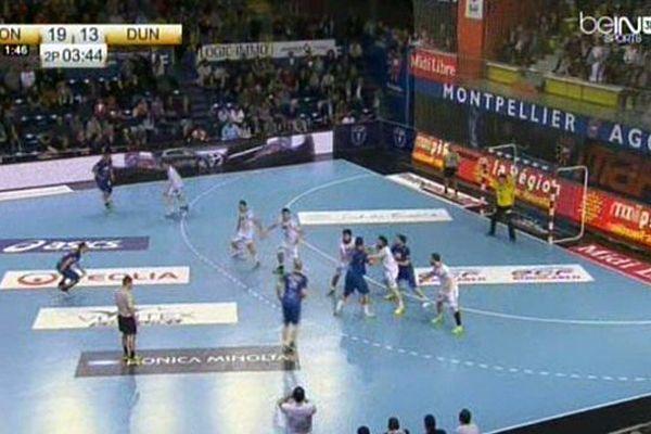La belle victoire des handballeurs de Montpellier en Coupe de France face à Dunkerque dimanche, 32-24.