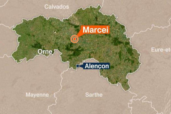 Un poids-lourd espagnol s'est reversé ce mercredi sur l'A 88 à hauteur de Marcei