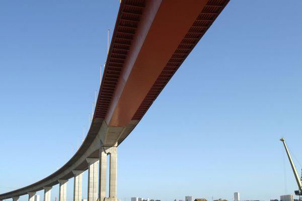 Le pont de Cheviré est fermé ce week-end dans le sens Nord-Sud