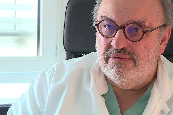 Le Toulousain Jean Thévenot, président du conseil régional d'Occitanie de l'Ordre des médecins - mars 2021.