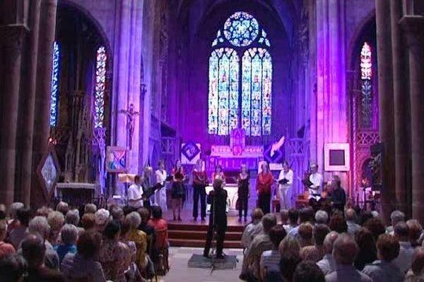 """La chorale """"Mission Voix d'Alsace"""" en l'église Saint-Georges de Sélestat vendredi soir"""