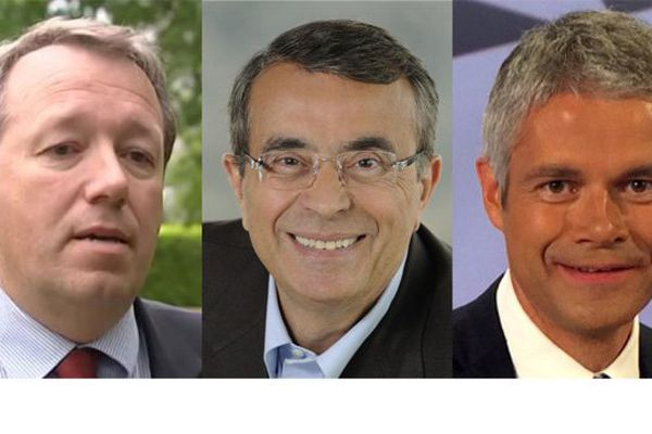 Christophe Boudot, Jean-Jack Queyranne et Laurent Wauquiez