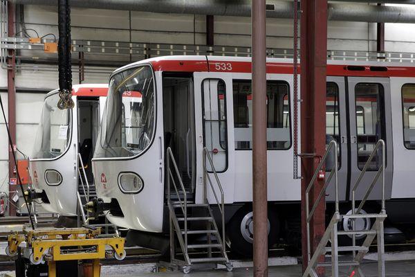 Journées du patrimoine 2018 : l'atelier de maintenance du métro lyonnais ouvre ses portes cette année encore aux visiteurs ... (photo archives)