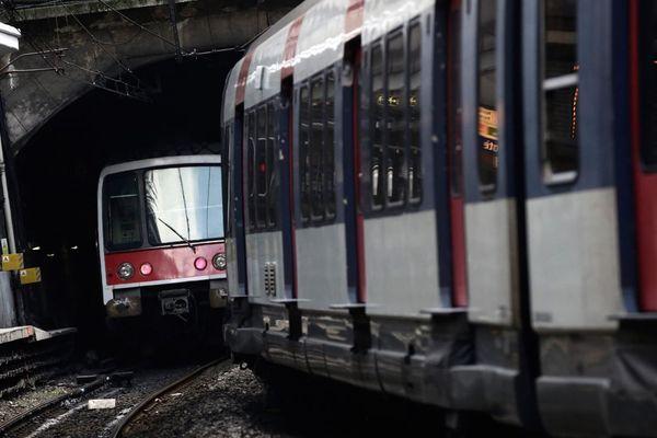 Près d'un million de Franciliens empruntent le RER B quotidiennement (illustration).