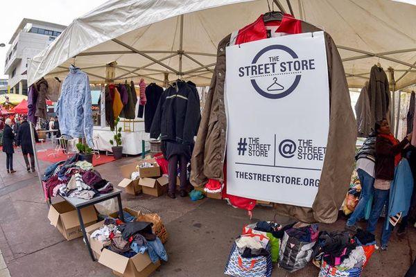 """Le """"street store"""" pour sa première édition à Rouen en 2016"""