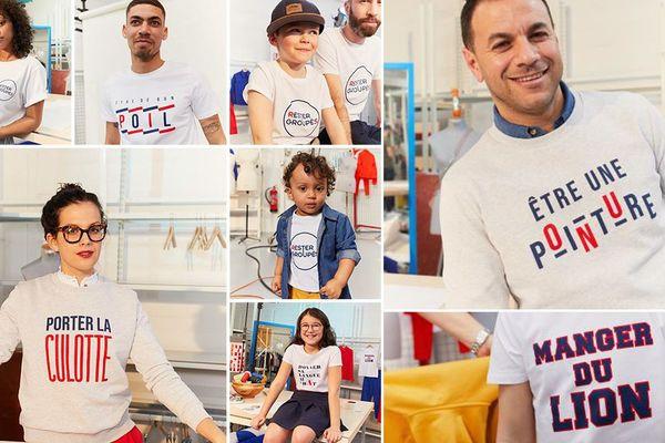 Des salariés de l'enseigne nordiste de vente à distance et leurs enfants ont joué les mannequins d'un jour avec leur t-shirts entièrement fabriqués à Roubaix