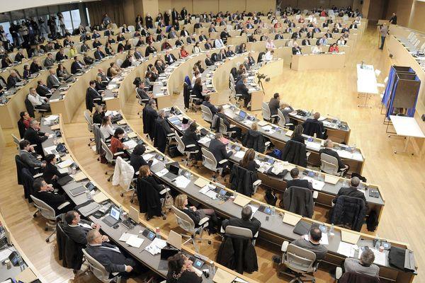 Assemblée plénière de la région Auvergne-Rhône-Alpes