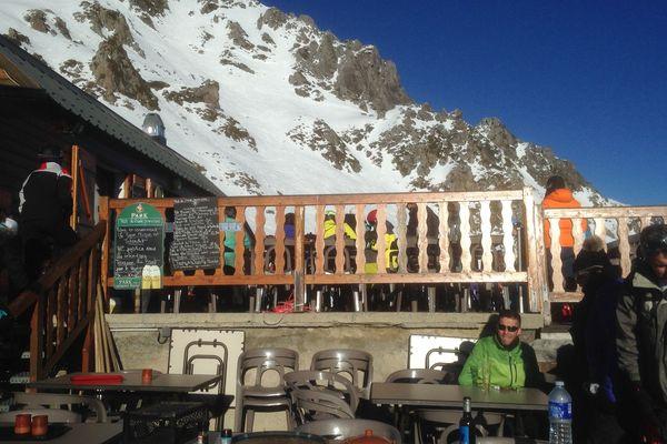 Le Président a mangé ce midi dans ce restaurant d'altitude, tenu par un de ses amis d'enfance.
