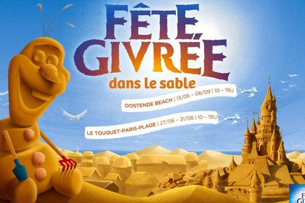 L'événement démarre le 27 juin sur la plage du Touquet et durera jusqu'au 31 août.