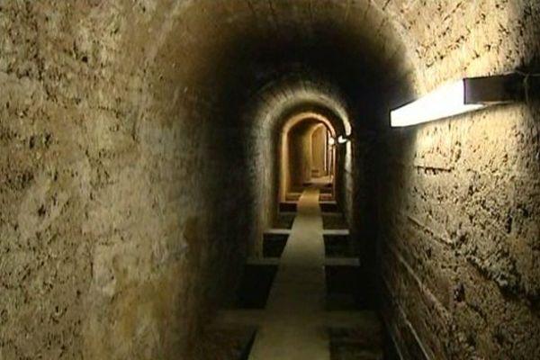 Les galeries souterraines de la source de Noé ont été réhabilitées au début du XXe siècle.