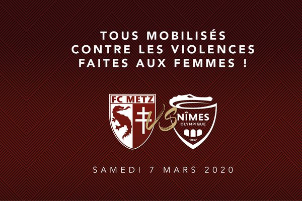 Face aux violences faites aux femmes, le FC Metz se mobilise