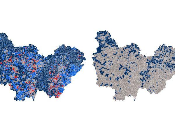 Avant-Après : ce qui a changé entre les 2 tours de l'élection présidentielle 2017 en Bourgogne-Franche-Comté