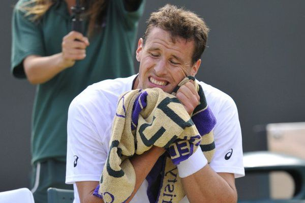 Fin de l'aventure à Wimbledon pour Kenny de Schepper