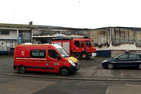 C'est le troisième incendie en moins de deux semaines dans la zone de Capécure.