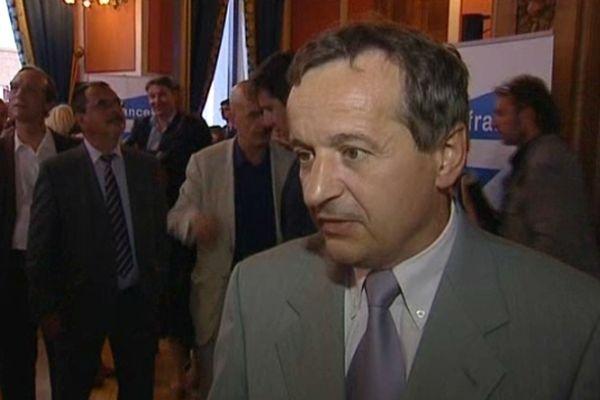 Maurice Vincent, maire PS de Saint-Etienne (Loire) - 2012