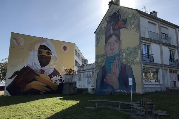 Sur le site de l'ancien hôtel du Pilotage, la tour aux 12 étages devrait faire disparaître les fresques des Escales
